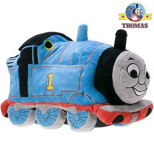 Perfect Child decoration night train themed bed Thomas the tank bedding shaped cuddle cushion soft toy gift