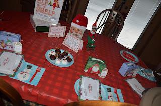 Elf Breakfast 1