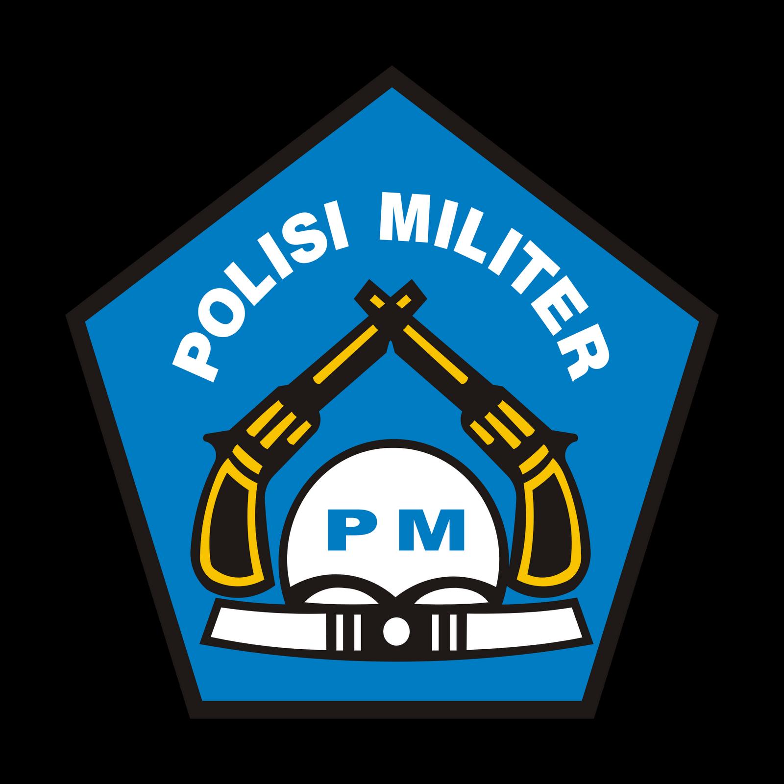 Polisi Militer Indonesia Logo Polisi Militer