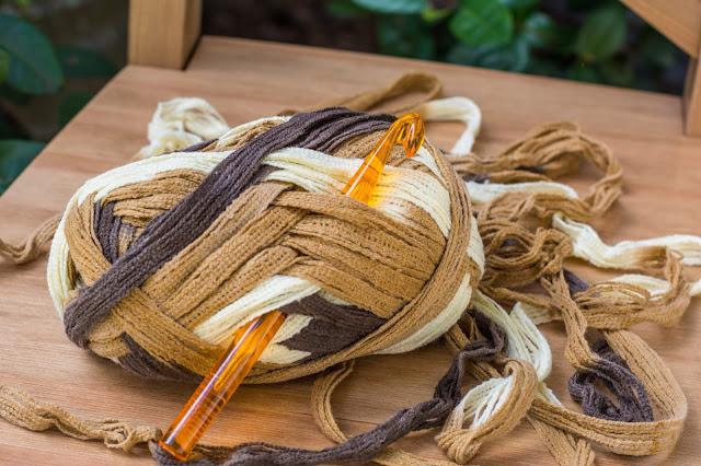вязание большим крючком, толстый крючок для вязания
