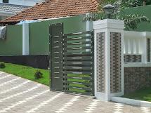 Gate House Fence Design