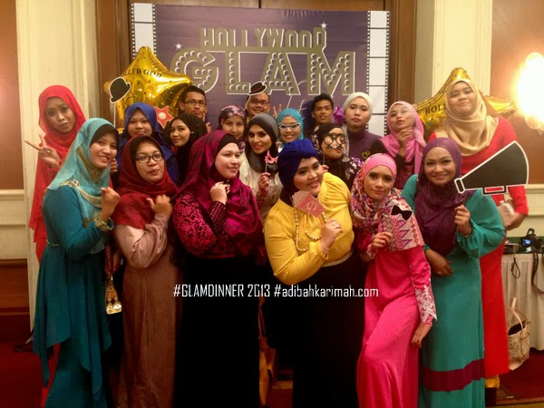 Adibah Karimah with Awesomazing Team