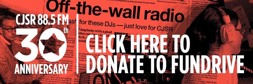 CJSR 88.5 FM