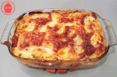 lasagne boeuf courgette