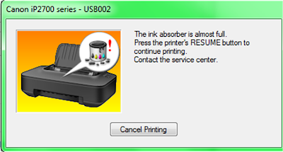 download resetter printer canon ip2770