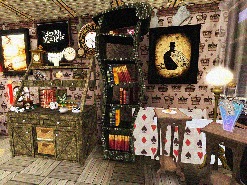 my sims 3 blog doty round 2 alice in wonderland kitchen