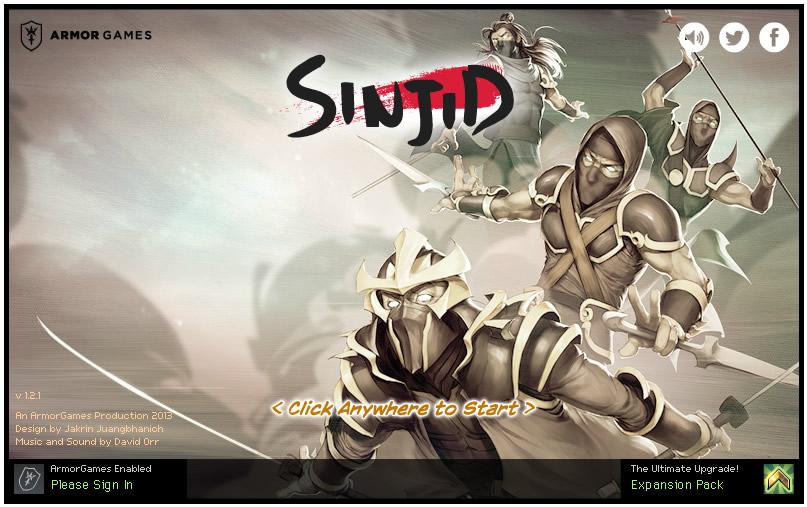 Armor Game : Sinjid