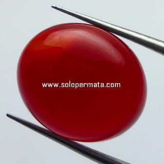 Batu Permata Natural Red Carnelian