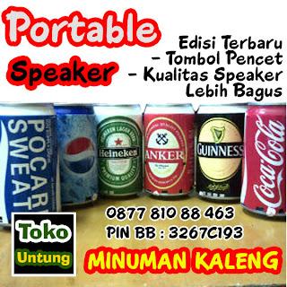 speaker kaleng