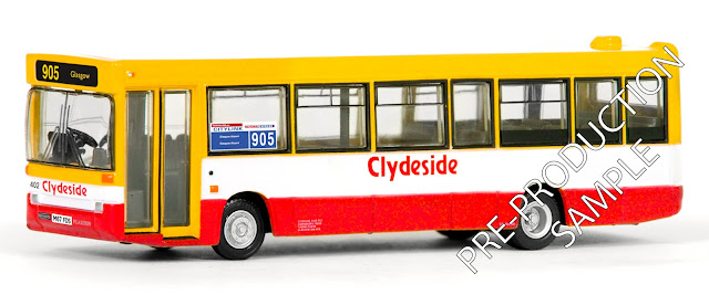 EFE  PRE-PRO SAMPLE 20650 - Plaxton Pointer Dart - Clydeside Registration number M67 FDS, fleet number 402. Operates route 905 to Glasgow / Airport. Scheduled for a September Release  RRP £34.50