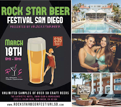 Save on Passes & Enter to win VIP tickets to the Rock Star Beer Festival - March 18!