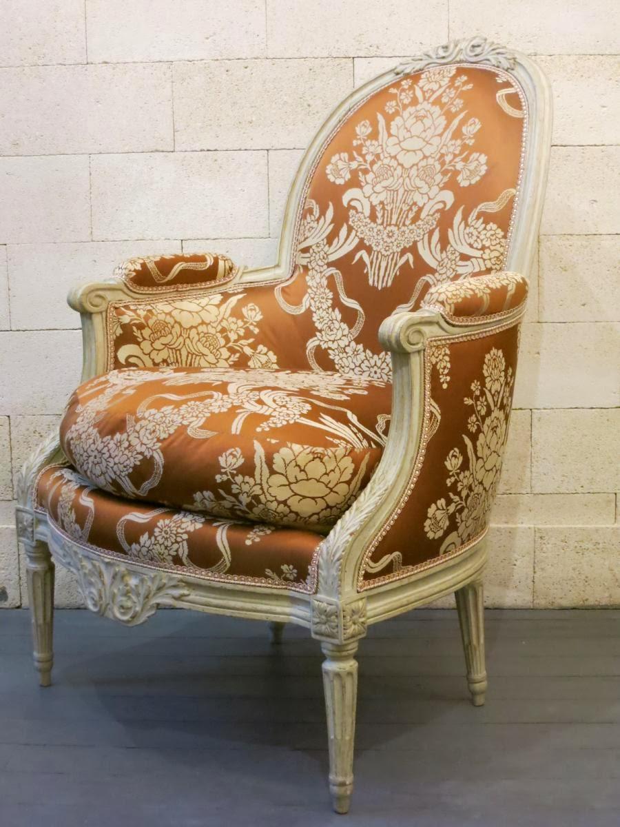 Il blog degli antiquari: La storia della poltrona Luigi XVI ...