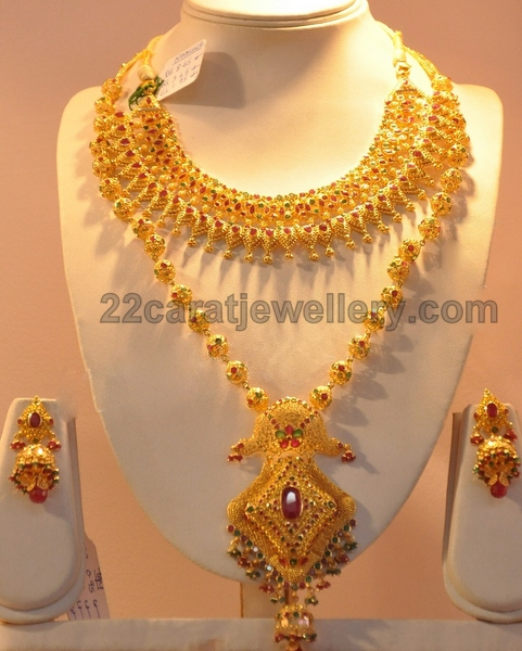 Gold Haram Jewellery Designs