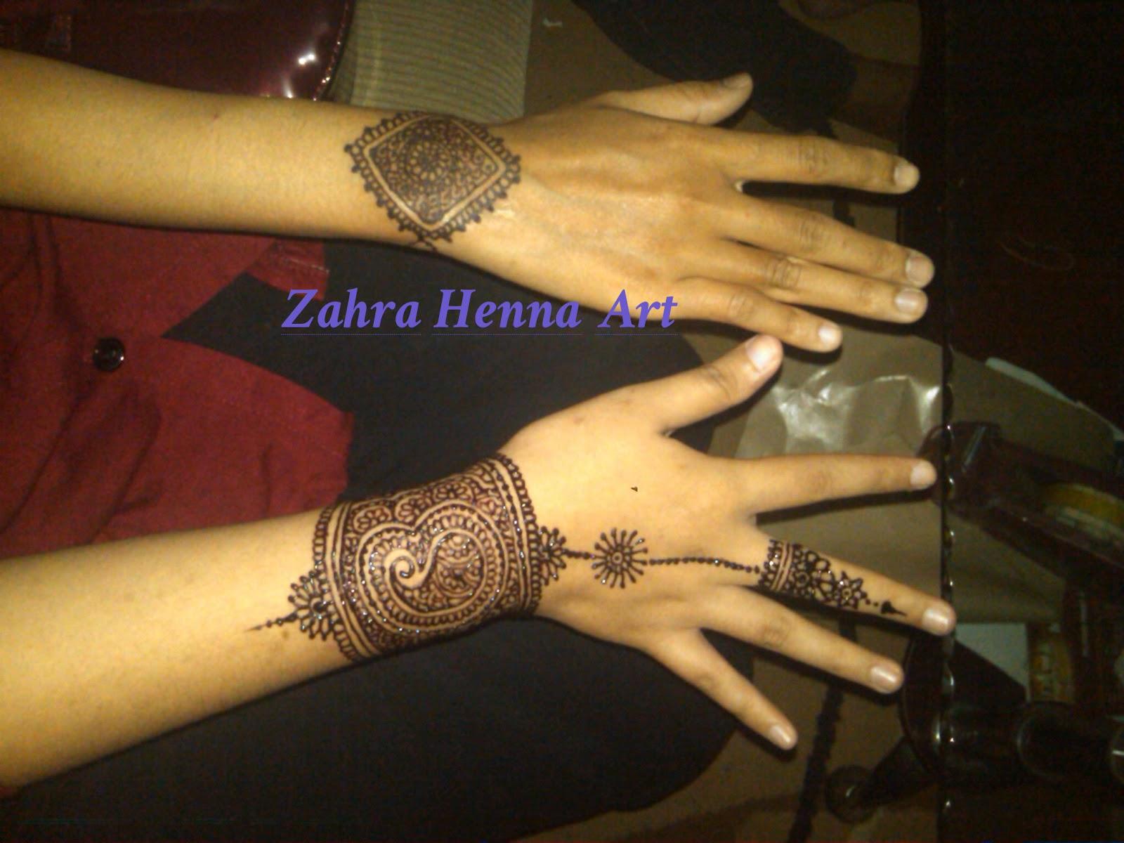 Zahra Henna Art Pare Kediri Henna Fun Desain Simpel Unik Dan Lucu