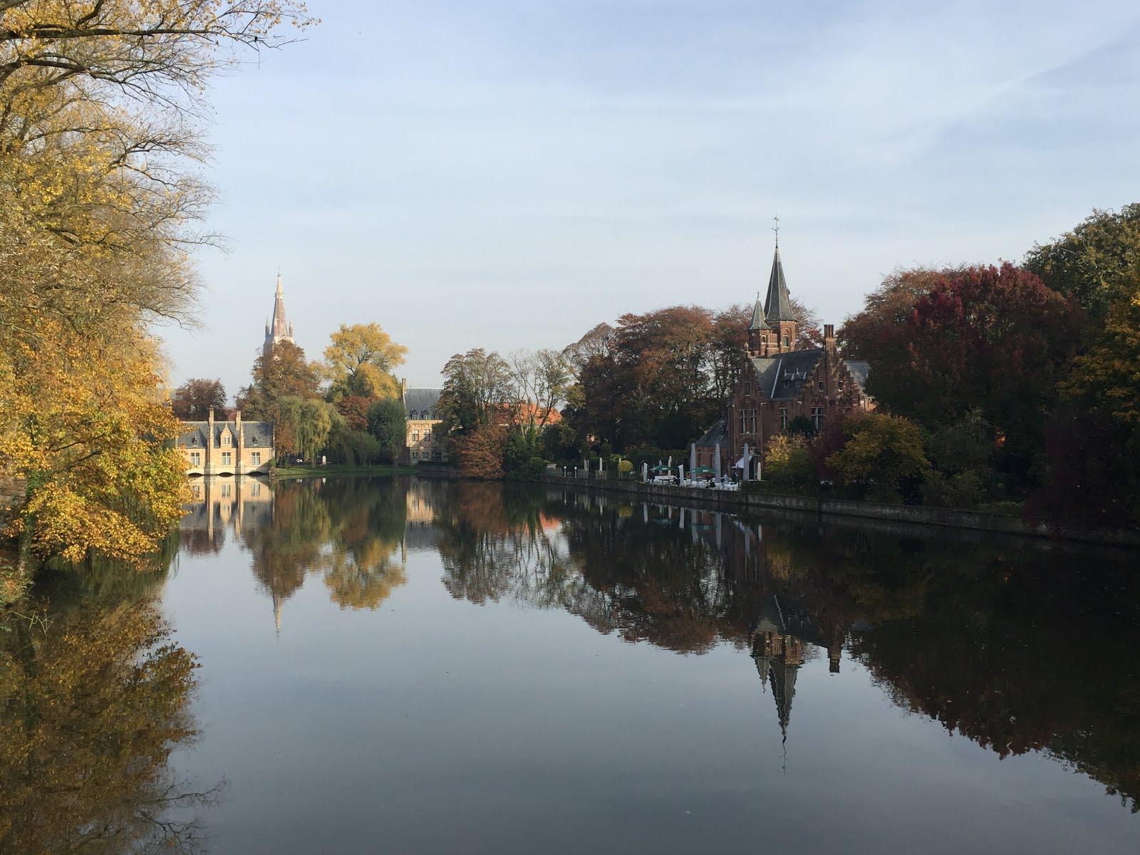 Sashuis - Minnewater, Brugge, Belgium