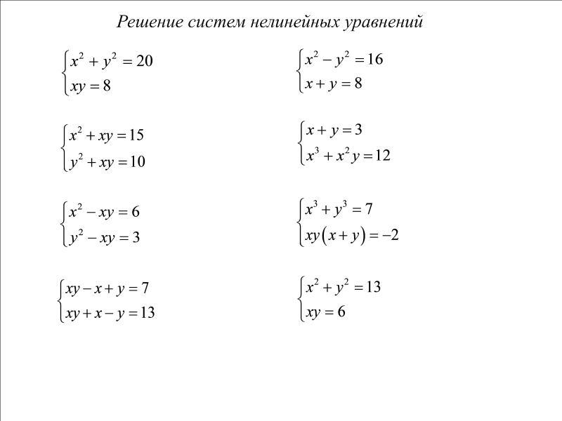Как уравнения с дробями 10 класса
