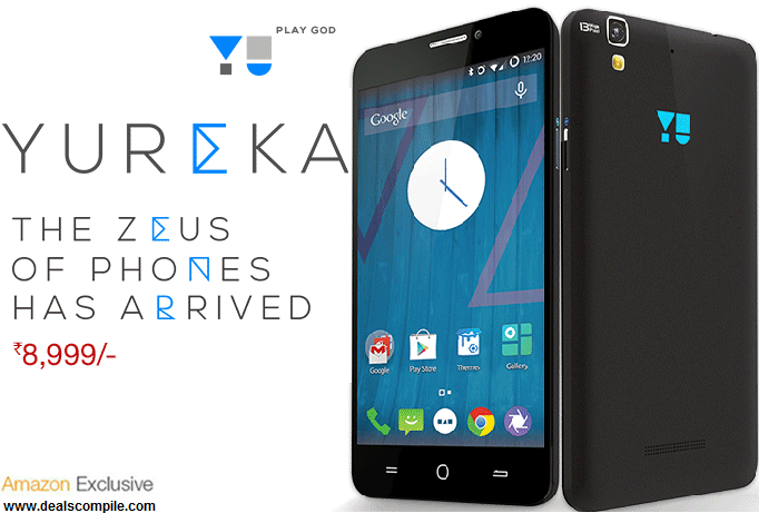 Micromax Yureka - Amazon Exclusive Open Sale