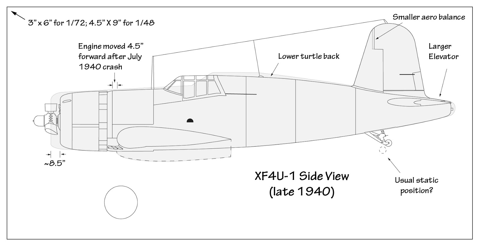 Vought XF4U-1 Corsair