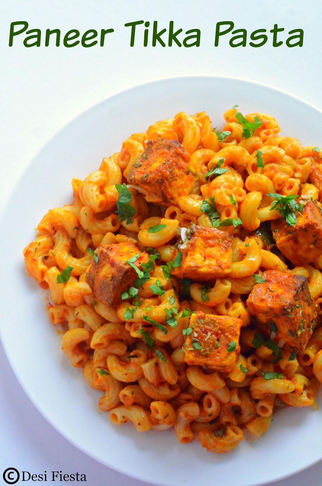 Indian Pasta Recipes