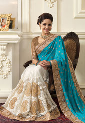 Koleksi model baju sari india terbaru tahun 2015