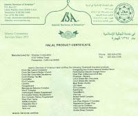 [ Halal Certificate ]