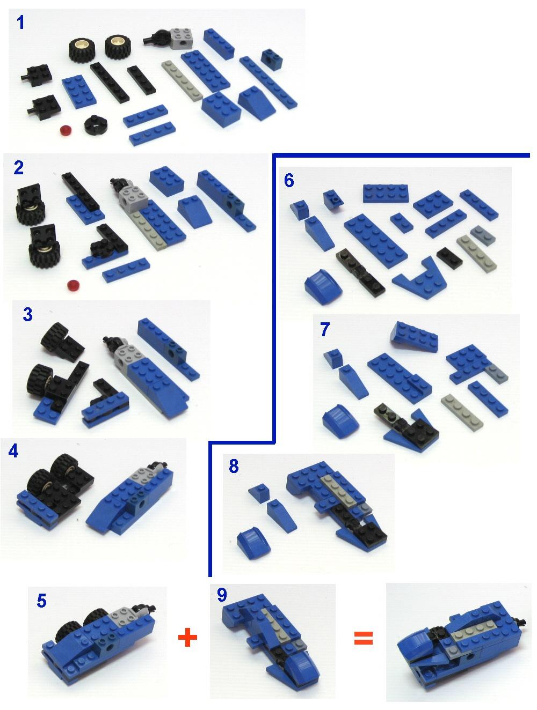 Как сделать трансформера из лего по инструкции 568