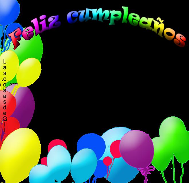 Marco para tarjeta de feliz cumpleaños - Imagui
