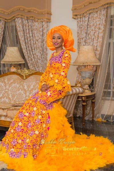 Green Dress Maryam BellaNaija Groom Hon Abdulmumin