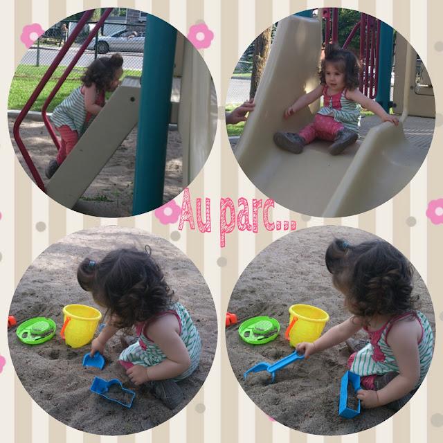 L'été... Allons joué au Parc!