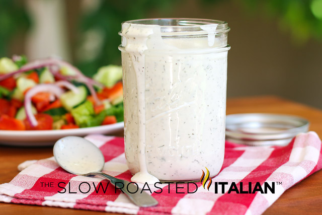 ... Italian - Printable Recipes: Homemade Buttermilk Ranch Salad Dressing
