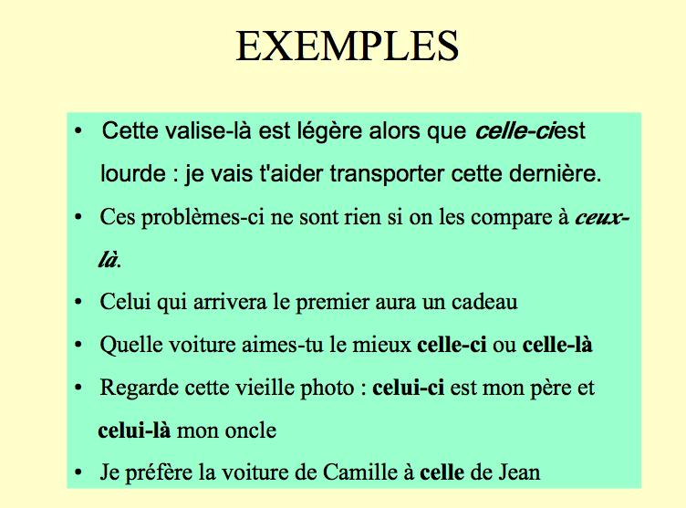 4e - Mon choix, le français!: Exercices: adjectifs et ...