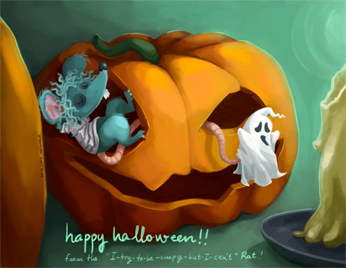 ilustracion infantil digital illustration halloween