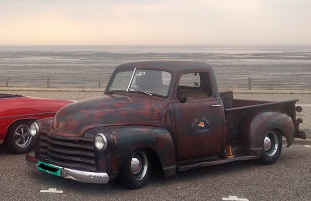 RodCityGarage: 1948 Chevrolet 3100 Patina Rat Truck