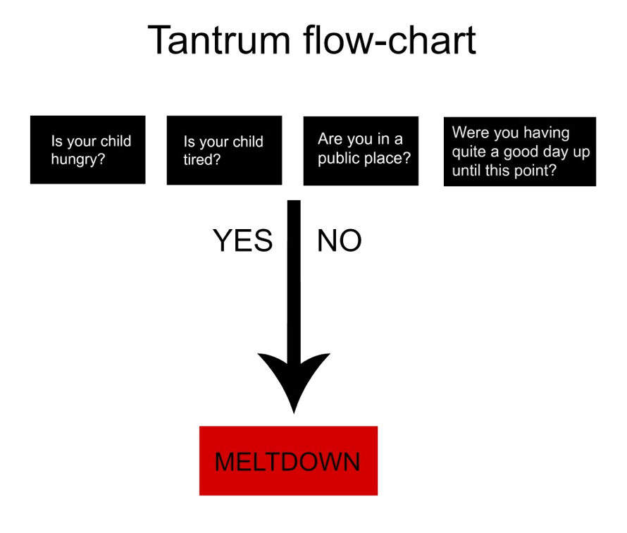 Paper Moon Tantrums And Sore Shins And A Flow Chart