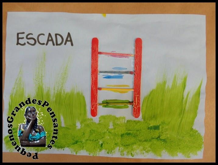 Escada com Palito de Picolé