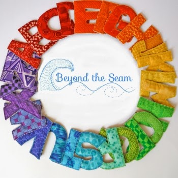 ABC Cloth Magnet Set from Beyond the Seam