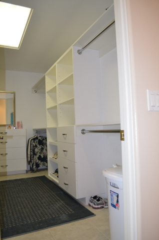 remodel closet right side