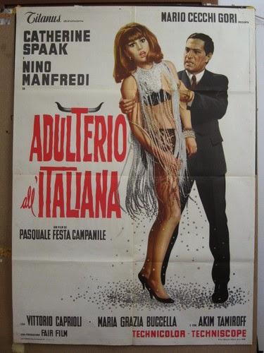Adulterio A La Italiana [1966]