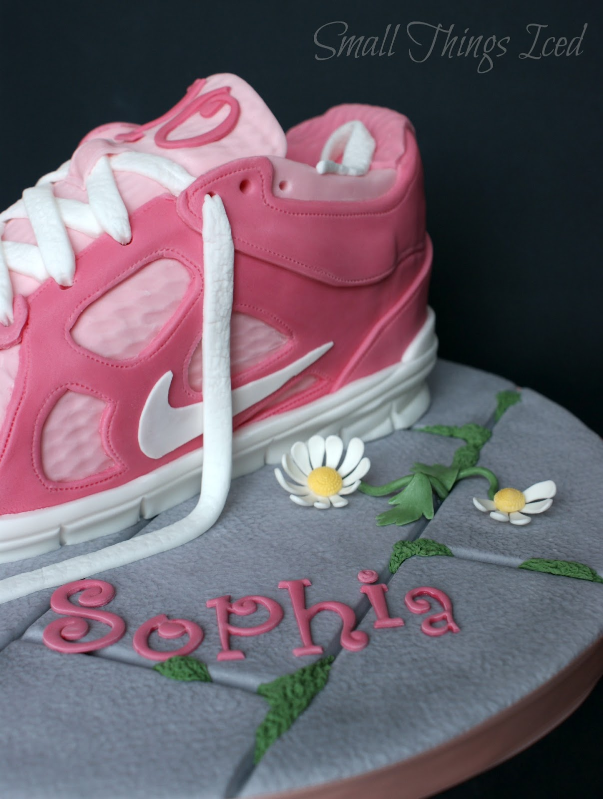 Trainer Shoe Birthday Cake