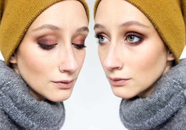 makeup look melt dark matter limecrime venus inspiration collage