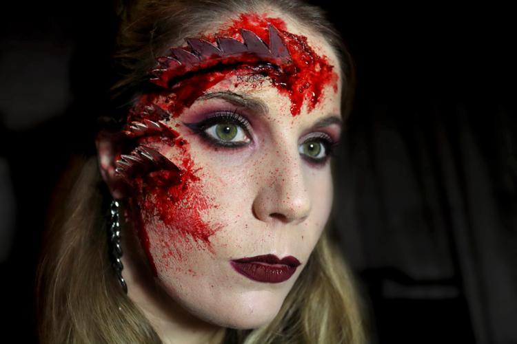 Mi look de Halloween '15 ! Saw Face
