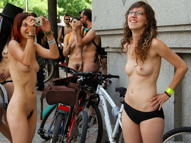 ride spain bike nude naked world