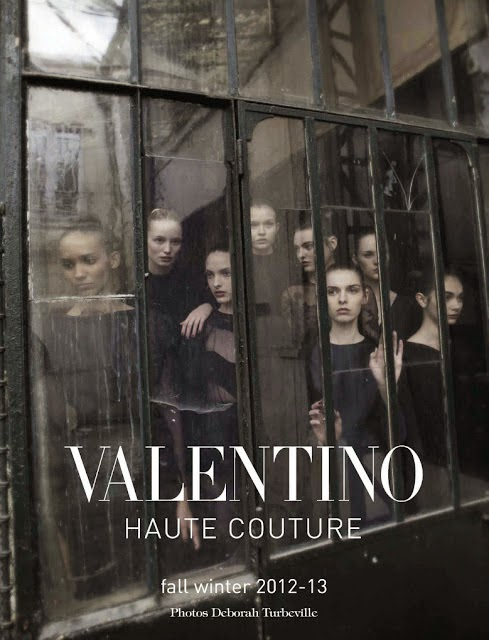 Valentino Haute Couture by Deborah Turbeville in Vogue Italia September 2012 Haute Couture Supplement | Ses Rêveries