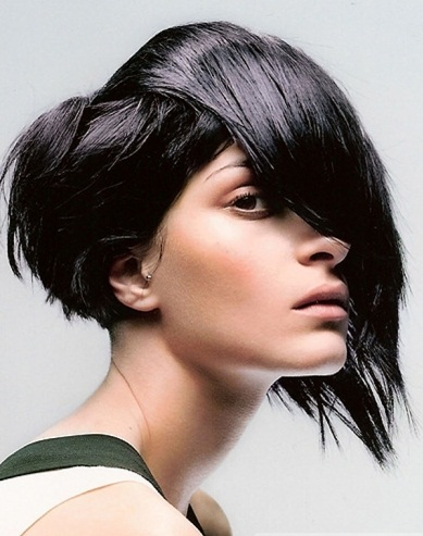 Stylish Choppy Layered Haircut 2013