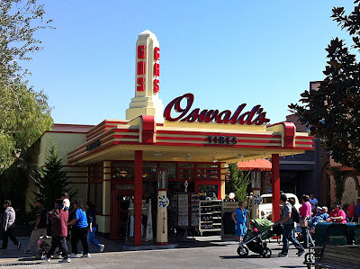 Oswald's Service Station DCA Disney California Gas Oswald