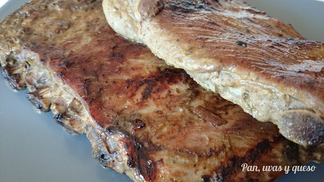 Costillas de cerdo con salsa agridulce (Crock-Pot)