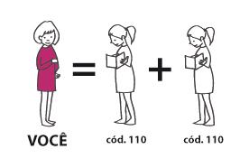 Recrute 2 amigos/as no catálogo 10/2013 que adquiram o Código 110