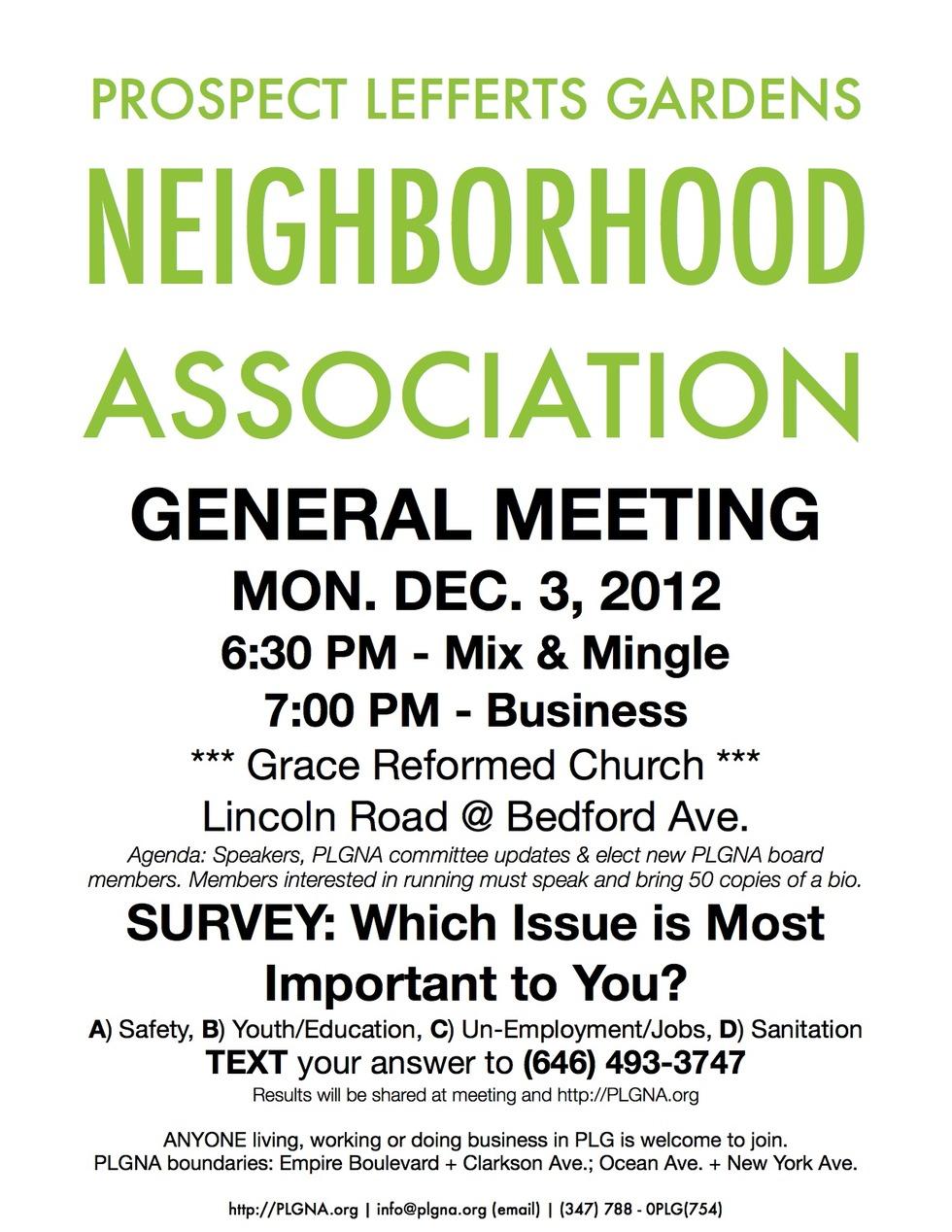Neighborhood Meeting Flyer Template Heartpulsar