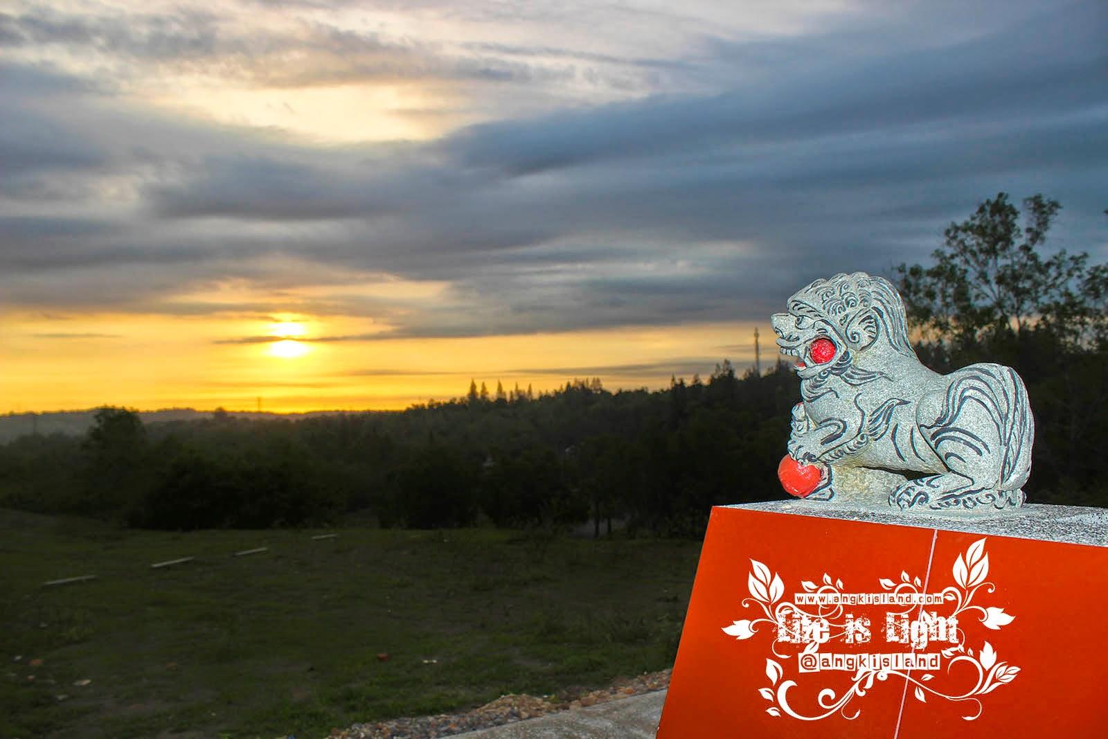 sunset yogyakarta