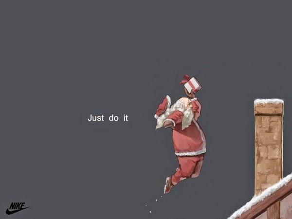 Publicidad creativa, navidad, Nike